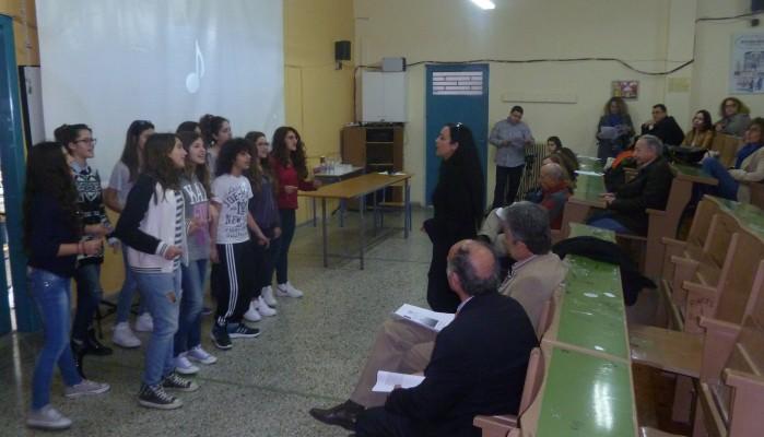 Eνδοσχολικό συνέδριο του προγράμματος Chain Reaction στο 6ο Γυμνάσιο