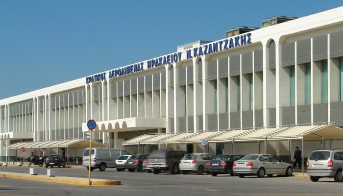 Σε άνοδο οι διεθνείς αεροπορικές αφίξεις στο Ηράκλειο τον Δεκέμβριο