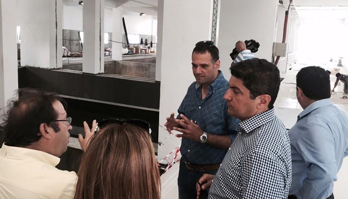 Περιοδεία Αυγενάκη σε έργα υποδομής στην Κρήτη