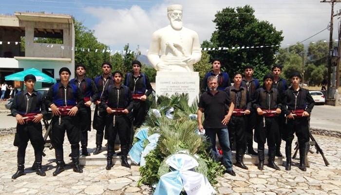 Τίμησαν την Επανάσταση Δασκαλογιάννη στην Ανώπολη Σφακίων (βίντεο + φωτο)