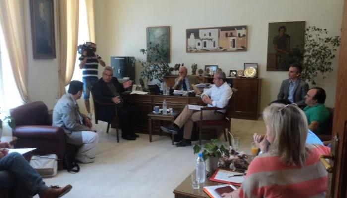 Οι οικιστές Ηρακλείου ζητούν συνάντηση με Λαφαζάνη