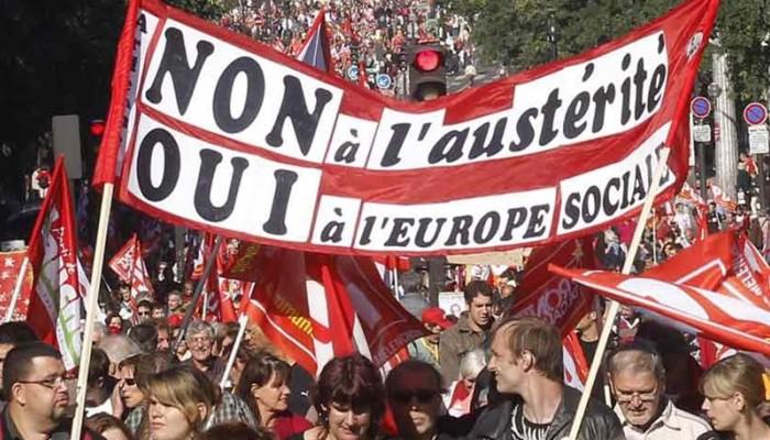 Γαλλία: Χιλιάδες κόσμου διαδήλωσαν στο Παρίσι υπέρ της Ελλάδας