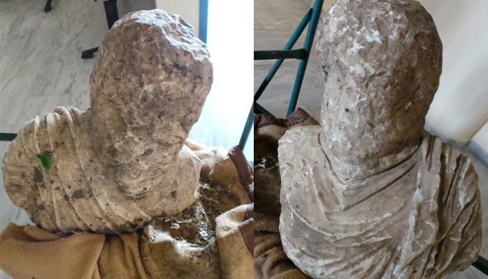 Είχε στο κήπο του αρχαίο άγαλμα και δενδρύλλια κάνναβης
