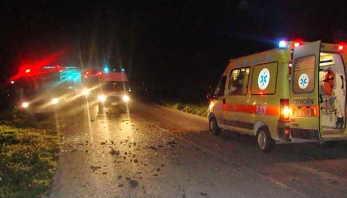 Τροχαίο ατύχημα με τραυματισμό στην Μαλάξα στα Χανιά