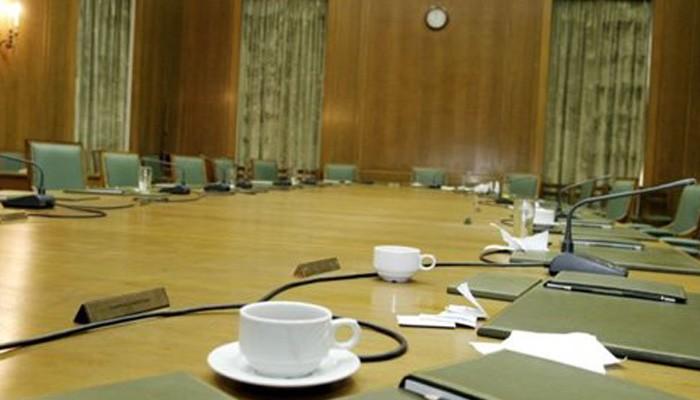 Συνεδριάζει το μεσημέρι το Υπουργικό Συμβούλιο