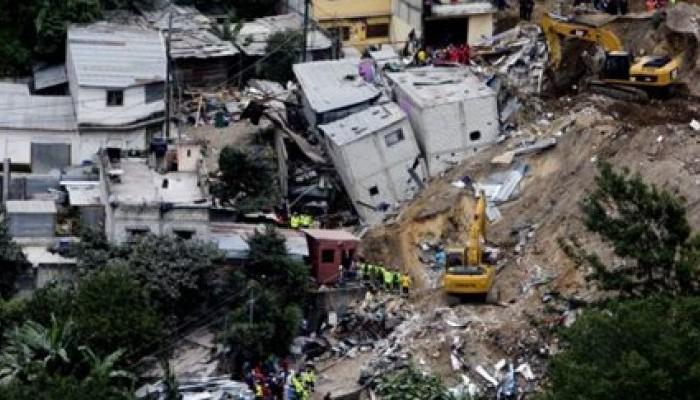 Στους 161 οι νεκροί από την κατολίσθηση στη Γουατεμάλα