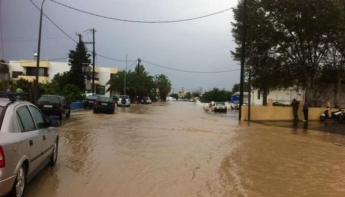 Προβλήματα σε Αττική,Πελοπόννησο και Κω από την ισχυρή βροχόπτωση