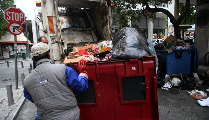 To πρόγραμμα αποκομιδής απορριμμάτων στην Ιεράπετρα