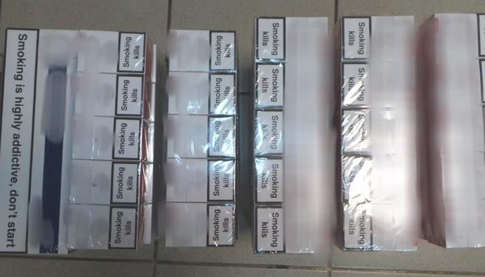 Χειροπέδες σε 32χρονο για 150 πακέτα λαθραία τσιγάρα