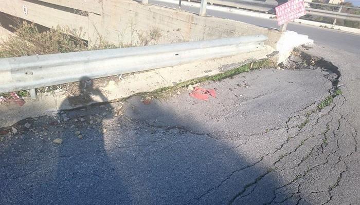Δρόμος – παγίδα πάνω από τον ΒΟΑΚ στον Γαλατά Χανίων