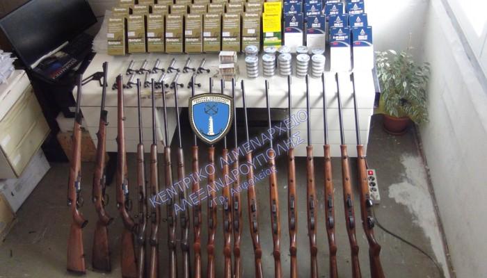 Από Γερμανία και Αυστρία αγόρασαν τα όπλα οι τρεις συλληφθέντες (βίντεο)