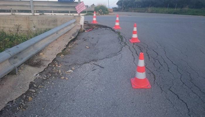 Βρείτε τη διαφορά... Ο δρόμος πριν και μετά στη γέφυρα Δαράτσου