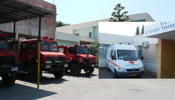 Δημοτικοί υπάλληλοι και Πυροσβέστες….οδηγοί σε ασθενοφόρα!