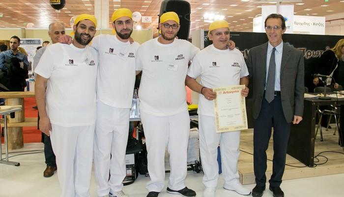 Στην Κρήτη το Α' βραβείο στο πανελλήνιο πρωτάθλημα ψωμιού