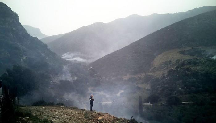 Έπιασαν τον άνδρα που έβαλε τη φωτιά στο Σφηνάρι Κισσάμου
