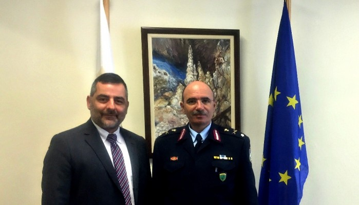 Θέματα αστυνόμευσης στη συνάντηση του Μ. Πετάση με τον Γ. Στεφανάκη