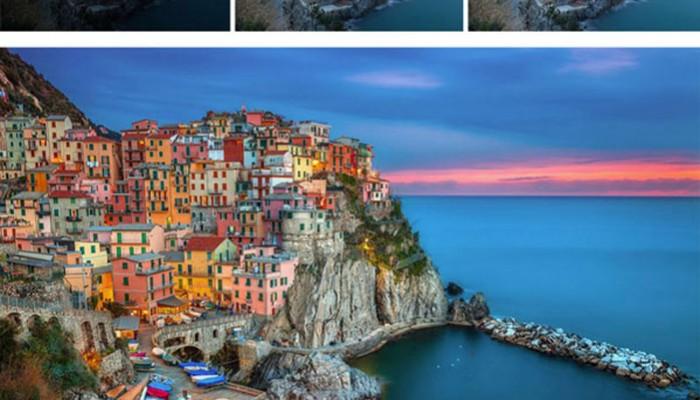 Ταξιδιωτικές εικόνες πριν & μετά το Photoshop!