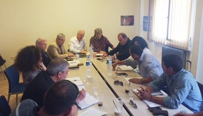 Εκπρόσωποι των αγροτών της Ιεράπετρας με τον Μ.Θραψανιώτη σε τρία Υπουργεία