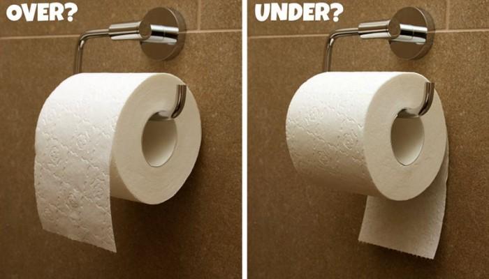 Τι αποκαλύπτει για εσένα ο τρόπος που κρεμάς το χαρτί υγείας στην τουαλέτα;