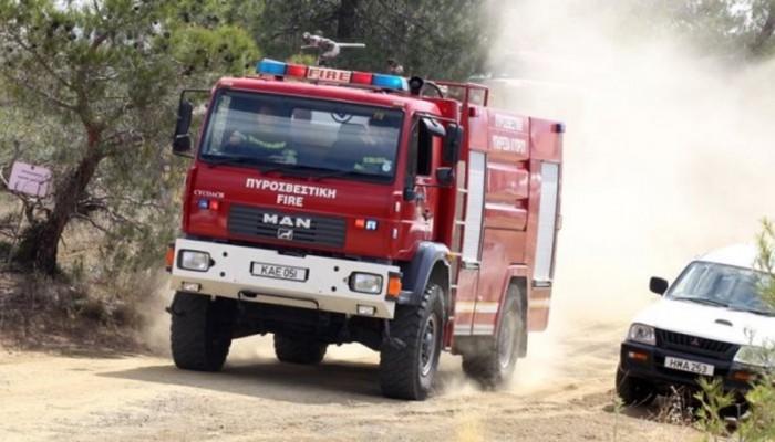 Μεγάλη φωτιά σε σπίτι στο Σκαλάνι
