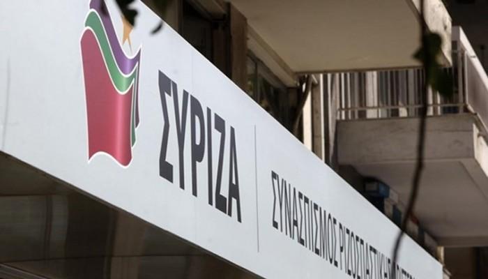 O ΣΥΡΙΖΑ για την κράτηση του Προέδρου Αγροτικού Συνεταιρισμού Κριτσάς