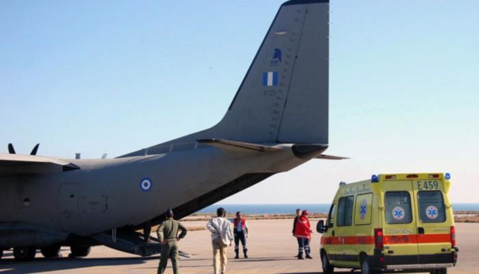 Τρια ταξίδια σωτηρίας ασθενών - Αγοράκι ενός έτους στην Κρήτη
