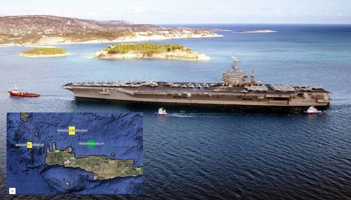 Έντονη στρατιωτική δραστηριότητα του ΝΑΤΟ στην Κρήτη