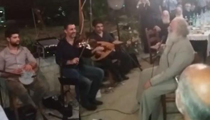 Όταν έχεις την τιμή να σου τραγουδά ένας Πατριάρχης (βίντεο)