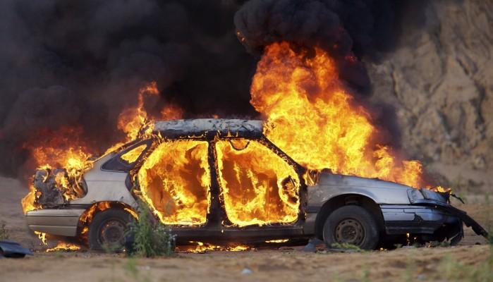 Μπουρλότο αυτοκίνητο τα ξημερώματα στο Ηράκλειο