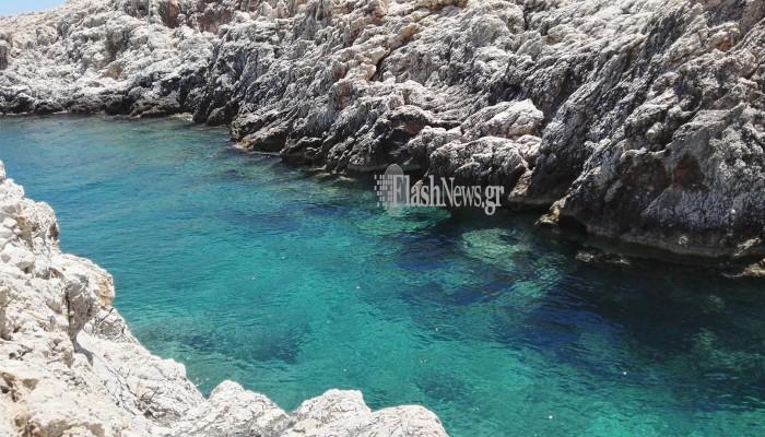 Ένας άγνωστος επίγειος παράδεισος στα Χανιά καλύτερος απο τα Σεϊτάν Λιμάνια