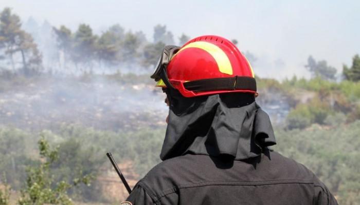 Δυο μικρές φωτιές εκδηλώθηκαν στην περιοχή του Ακρωτηρίου