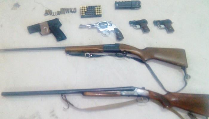 Πάνοπλος 58χρονος στην Κίσσαμο είχε ποικιλία όπλων και χασίς