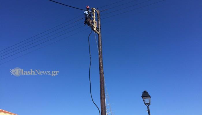 Πολύωρες διακοπές ρεύματος σε περιοχές των Χανίων από την ερχόμενη εβδομάδα