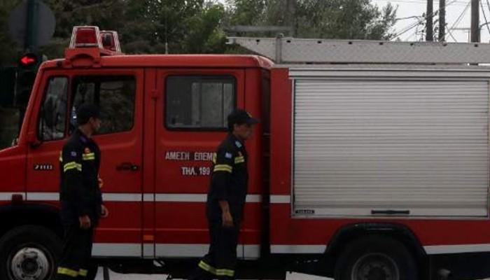 Πυρκαγιά σε σπίτι στην Ιεράπετρα