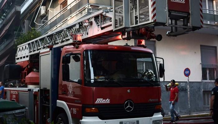 Φωτιά σε διαμέρισμα στο Ηράκλειο - Ένας τραυματίας