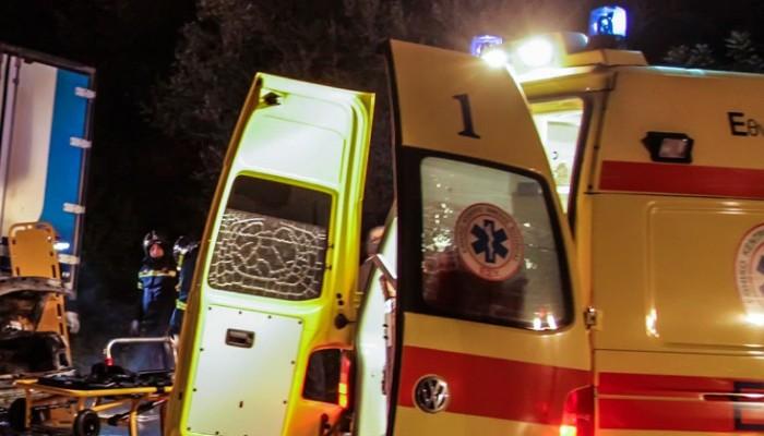 Τροχαίο με δύο εγκλωβισμένους τραυματίες στην Κρήτη