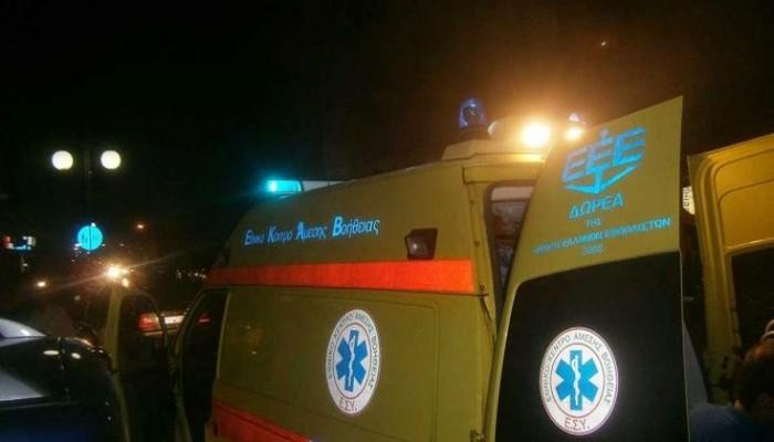 Τραυματίστηκε οδηγός μοτό στην οδό Μάρκου Μπότσαρη στα Χανιά