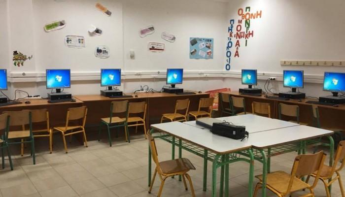 134 ηλεκτρονικοί υπολογιστές στα σχολεία του Δήμου Ιεράπετρας