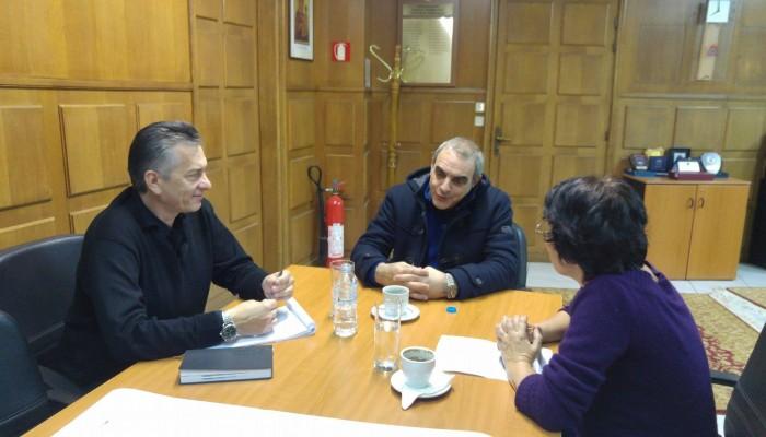 Για ζητήματα νόμου συναντήθηκε με τον Υφυπουργό Παιδείας η κ.Βαγιωνάκη