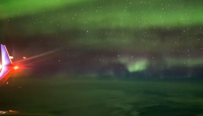 Βίντεο με το Βόρειο Σέλας από ύψος 10.700 μέτρων