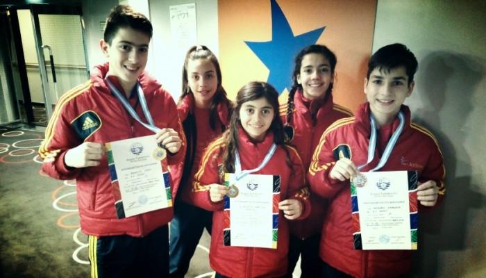 Α.Σ. Κρήτες: Τρία μετάλλια στο διασυλλογικό πρωτάθλημα