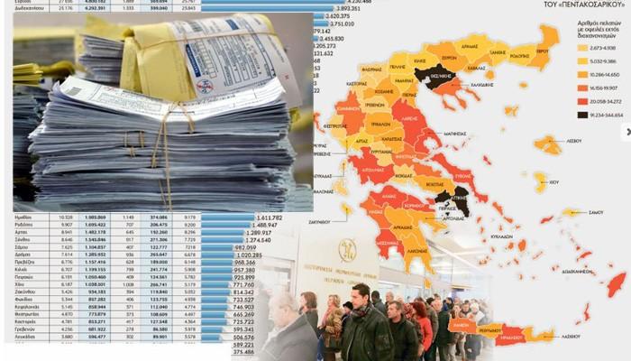 Στοιχεία – σοκ για τους απλήρωτους λογαριασμούς ΔΕΗ στην Κρήτη