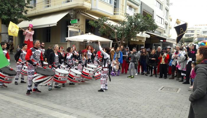 Το Ρεθεμνιώτικο Καρναβάλι στα ...Λιοντάρια!