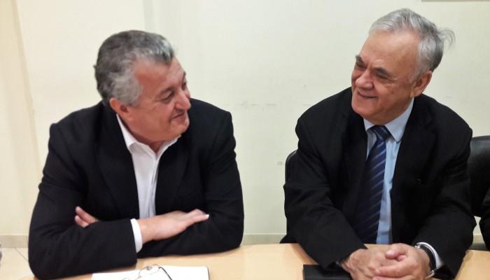 Για το αεροδρόμιο Καστελίου συζήτησαν Δραγασάκης - Καλογεράκης