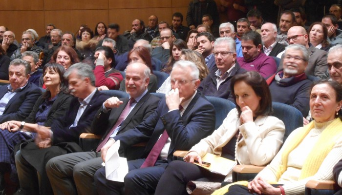 Πλήθος κόσμου στην εκδήλωση της «Ώρας Αποφάσεων»  στο Ηράκλειο
