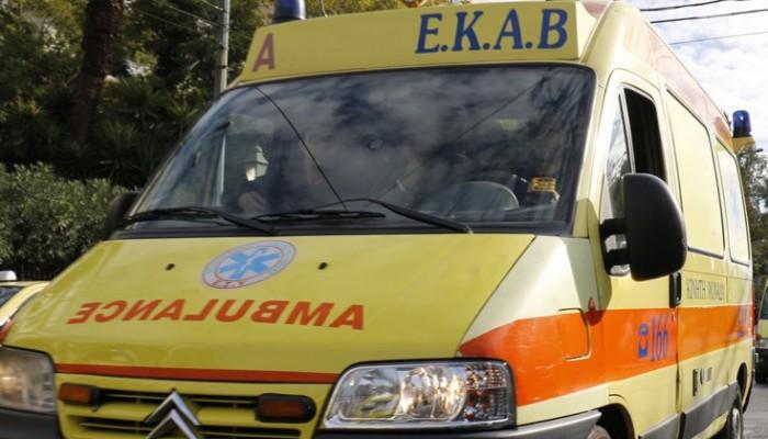Τροχαίο με δύο τραυματίες στο Ηράκλειο