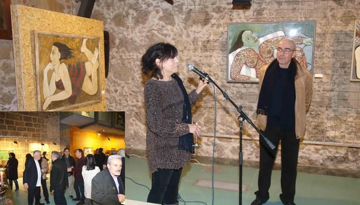 Τα εγκαίνια έκθεσης της Δανάης Σκαράκη στο Μεγάλο Αρσενάλι (φωτο)