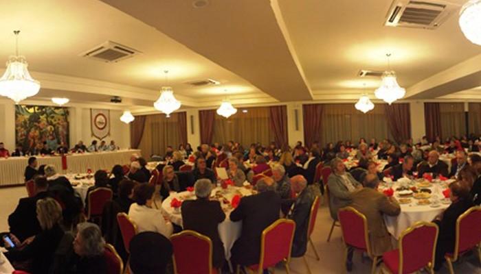 Η εκδήλωση για την κοπή της πίτας του Ερυθρού Σταυρού στην Κίσαμο (φωτο)