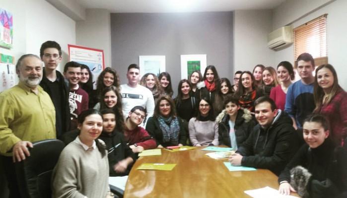 Στον πηγαιμό για το Ευρωπαϊκό Κοινοβούλιο 24 μαθητές από την Κρήτη