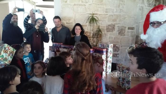 Η γιορτή για τα παιδιά των δημοσιογράφων στα Χανιά (φωτο - βίντεο)